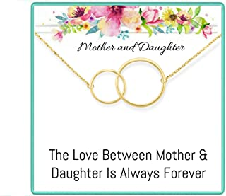 Mother Daughter Necklace Gift set, Gifts for mom and daughter