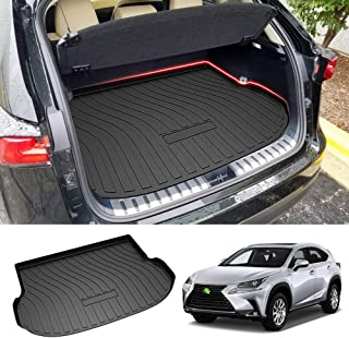 Powerty Trunk Mat All Weather TPO Rear Cargo Liner for Lexus NX200t NX300 NX300h 2015 2016 2017 2018 2019 2020 2021
