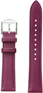 Leather and Stainless Steel Interchangeable Watch Band Strap