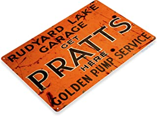 pratts oil sign