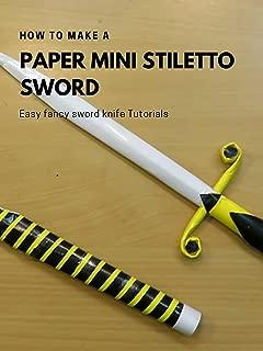 Best paper knife tutorial Reviews