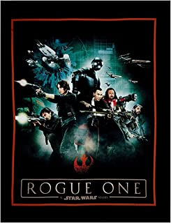 Rogue One: A Star Wars Story Characters 36'' Panel Multi Fabric By The Panel