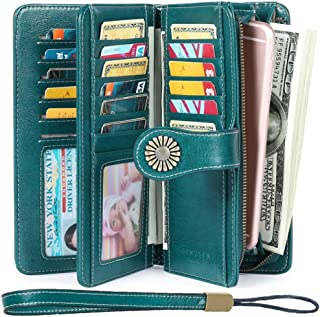 Women's Wallets, Large Capacity with RFID Protection,...