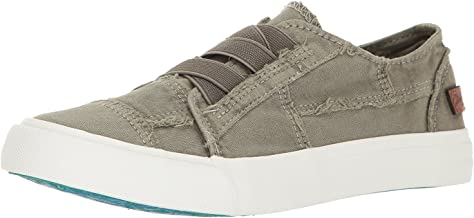 Blowfish Malibu Womens Marley Shoes, Latte Spots Print Canva