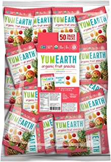 YumEarth Organic Tropical Fruit Snacks, 50 Count