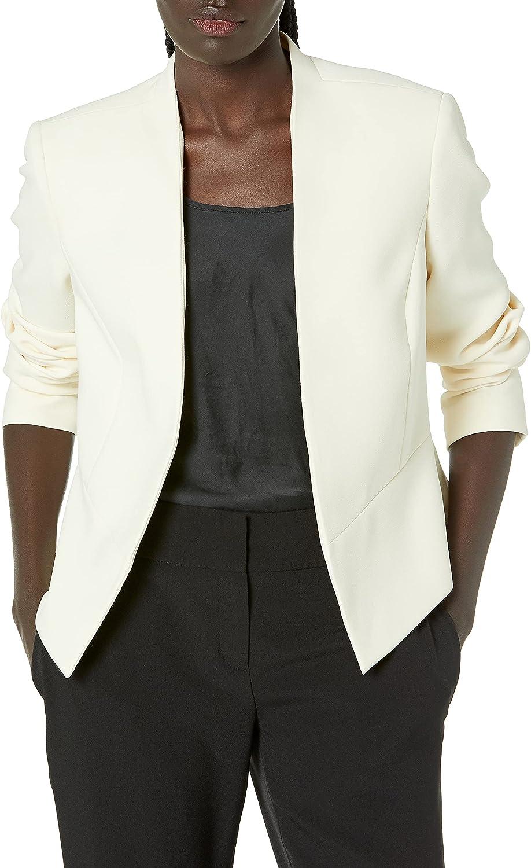 NINE WEST Women's Crepe Fly 特売 ファクトリーアウトレット Jacket Away