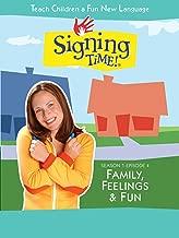 Signing Time Season 1 Episode 4: Family, Feelings & Fun