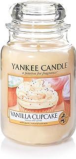 Yankee Candle bougie jarre parfumée | grande taille | Gâteau à la vanille | jusqu'à 150 heures de combustion