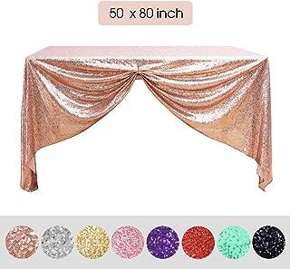 Best glitter overlay tablecloth Reviews