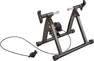 HulkFit Bike Trainer Stand Steel Bicycle Exercise Magnetic Stand with Noise Reduction Wheel