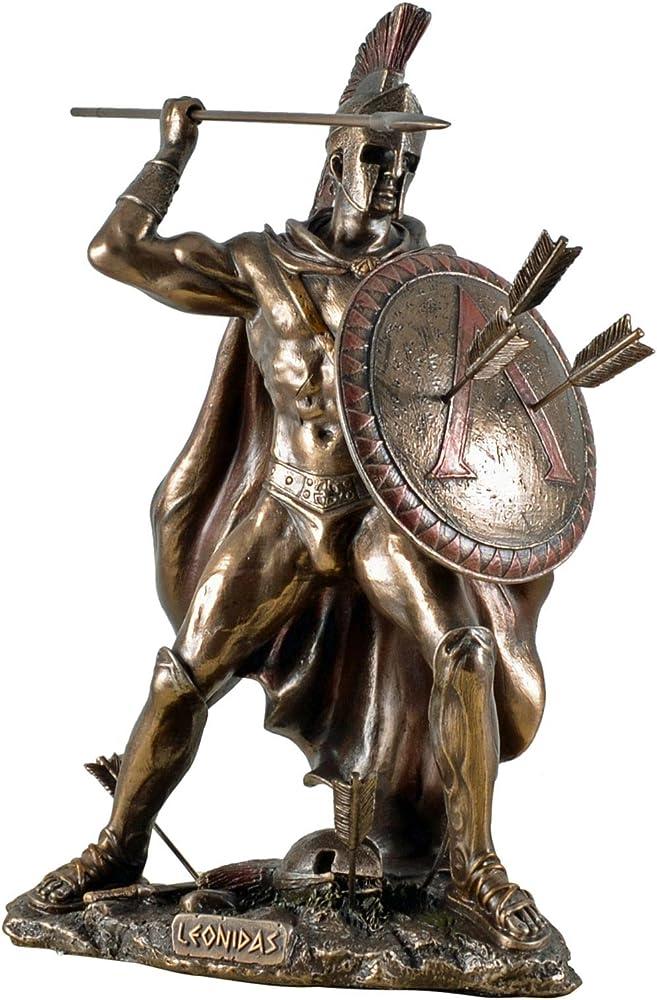 Scultura Leonida statua del condottiero leonida - Veronese