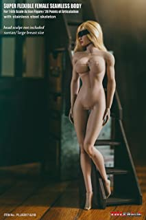 OBEST 1/6 Female Super Flexible Seamless Body Pale Action Figure (S21B)