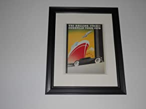 Framed Rolling Stones European Tour 1970 Handbill, Get Yer Ya-Ya's Out 14