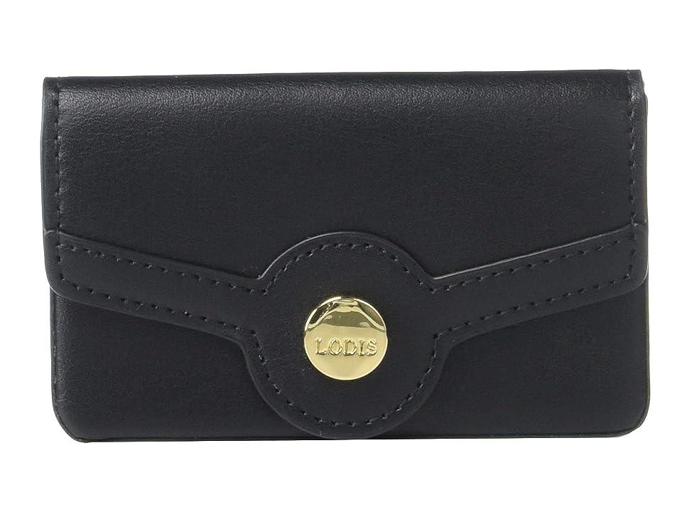 Lodis Accessories Rodeo RFID Maya Card Case (Black) Bags