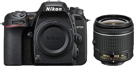 Nikon D7500 20.9MP DX-Format 4K Ultra HD Digital SLR Camera (Body Only) (Renewed) with AF-P DX NIKKOR 18-55mm f/3.5-5.6G V...