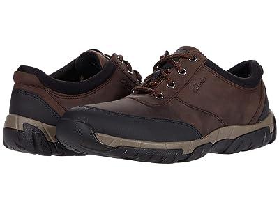 Clarks Grove Edge (Brown Leather) Men