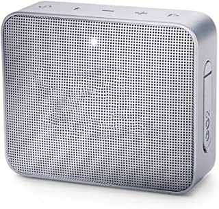 Portable Bluetooth Waterproof Speaker, Mini Woofer with Built-in Microphone, 5 Hours Battery Life,Gray