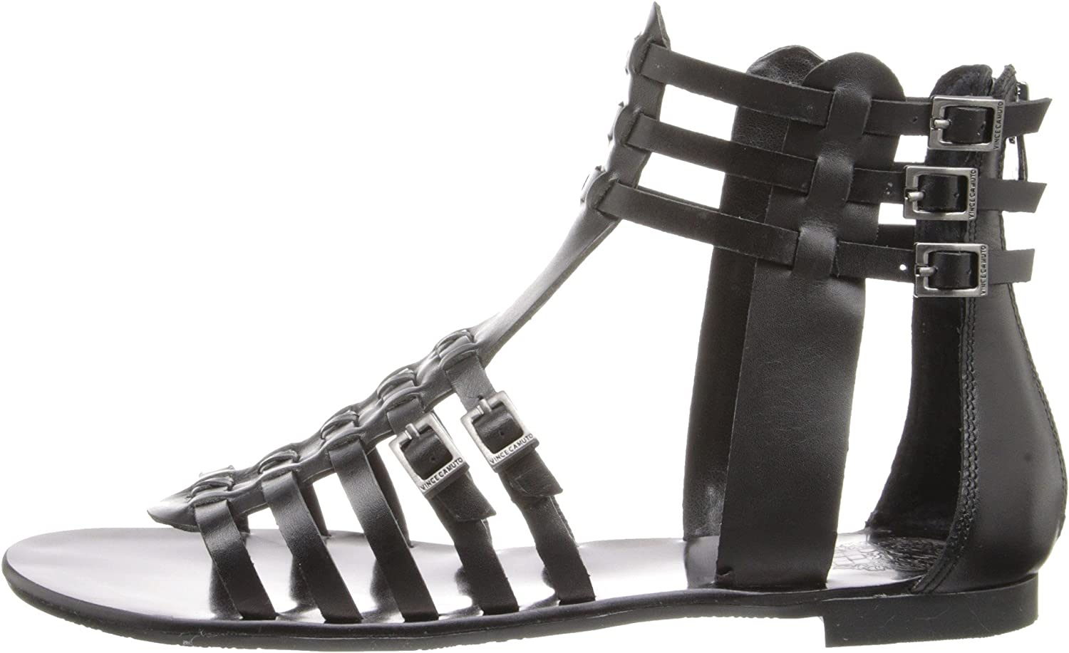 Vince Camuto Womens Jatella Leather Open Toe Special Occasion Gladiator Sandals