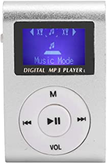 Mini Portable MP3 Player with BackClip LCD Screen Mini MP3 Music Player Portable Digital Music Media Player Support Memory...