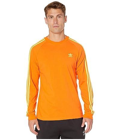 adidas Originals BLC 3-Stripes Tee (Orange 2) Men