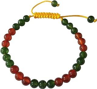 Tibetan Mala Carnelian Wrist Mala/Bracelet for Meditation