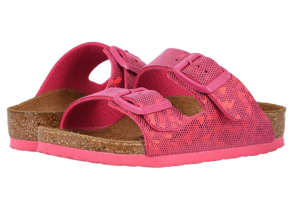Birkenstock Kids Arizona (Toddler/Little Kid/Big Kid) (Hologram Pink) Girls Shoes