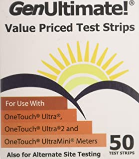 GenUltimate! Value Priced Test Strips, 2 Boxes of 50