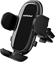 Car Phone Mount, Mpow Mirror Vent Car Phone Holder with Stable Clip, Adjustable Support Feet Car Mount Compatible with iPhone 12 SE 11 Pro Max XS XR, Galaxy Note 20 S20 S10 and More
