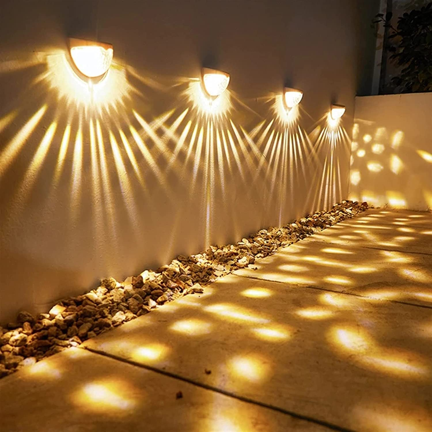 JSJJAWD Wall lamp Summer LED Lamps Ener Solar Light Washington Mall Outdoor Discount is also underway
