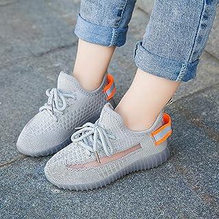 FOMCORT夏季男女童鞋 宝宝鞋 休闲童鞋 儿童鞋 学生鞋 软底鞋 透气飞织鞋