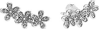 Pandora Women Silver Stud Earrings - 290744CZ