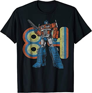 Transformers Optimus Prime Retro 1984 T-Shirt