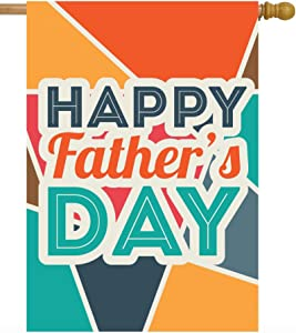 ShineSnow Happy Fathers Day Love Best Great Dad House Flag 28