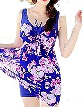 Stevenurr Charming Women's Shaping Body One-Piece Swimsuit Plus Size Swimwear