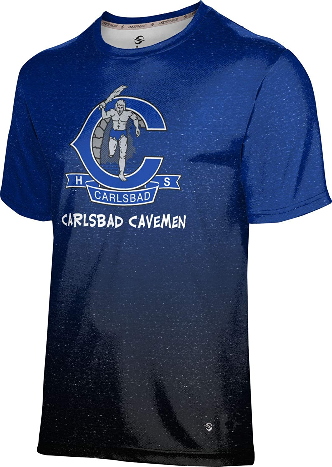 Long Beach Mall ProSphere Carlsbad High School T-Shirt Ombre Factory outlet Performance Men's