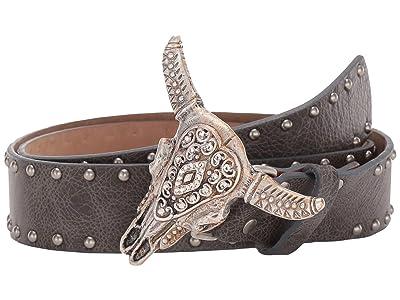 Leatherock Ranger Belt (Charcoal) Women