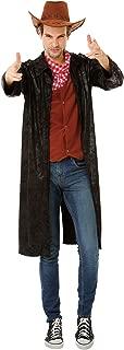 Boo Inc. Gallant Gunslinger | Men's Western Cowboy Hero Sheriff Halloween Costume