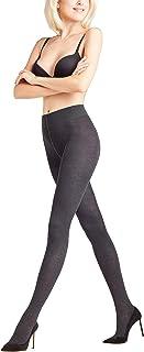 FALKE Strumpfhose Family Baumwolle Damen schwarz blau viele weitere Farben verstärkte Damenstrumpfhose ohne Muster blickdicht Baumwollstrumpfhose einfarbig 1 Stück
