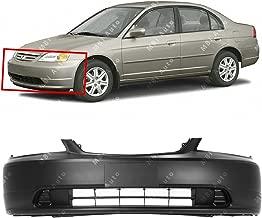 2001 accord front bumper
