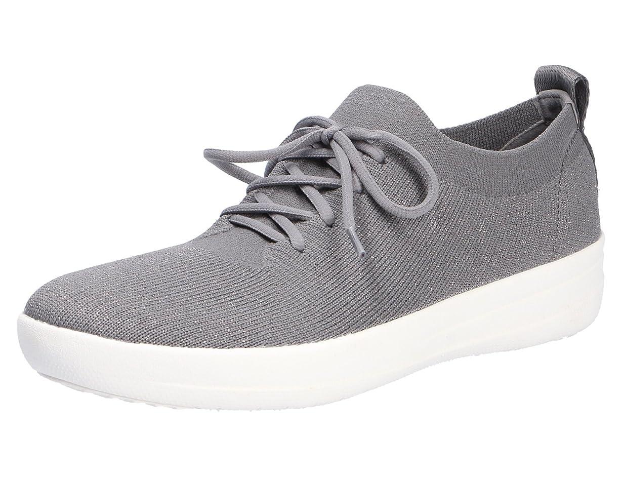 検索週末指紋FitFlop(フィットフロップ) レディース 女性用 シューズ 靴 スニーカー 運動靴 F-Sporty Uberknit Sneakers - Charcoal/Metallic Pewter 6 M (B) [並行輸入品]