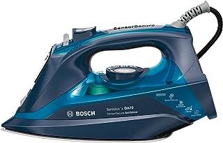 comprar comparacion Bosch TDA703021A, Plancha de Vapor, 3000W, Vapor Constante 50 g/min, Cerámica, Color Azul