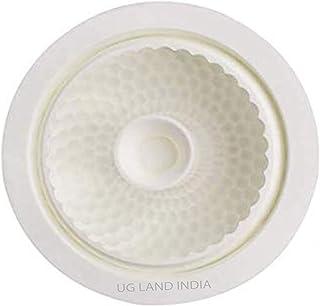 UG LAND INDIA 3D Silicone Mold for Baking Cakes Brownie Mousse (Round) White Silicone Entremet Mold Non-Stick DIY Baking P...