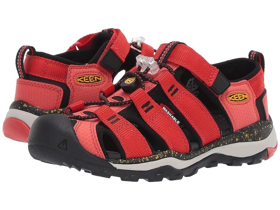 Keen Kids Newport Neo H2 (Little Kid/Big Kid) (Fiery Red/Golden Rod) Boys Shoes