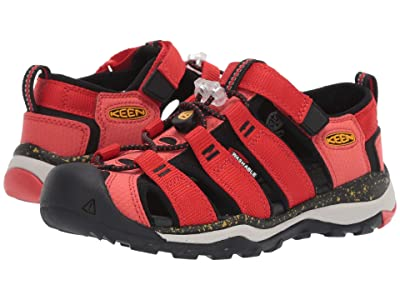 Keen Kids Newport Neo H2 (Little Kid/Big Kid) (Fiery Red/Golden Rod) Boys Shoes