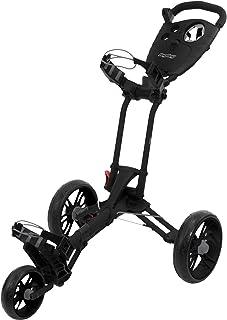 Bag Boy EZ-Walk Push Cart, Black/Charcoal