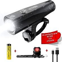 Best 18650 battery bike light Reviews
