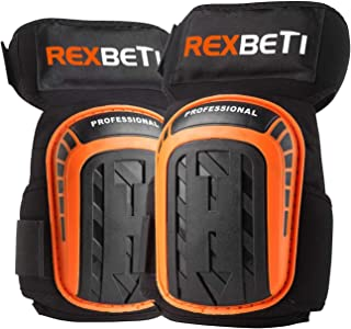 Knee Pads for Work, Construction Gel Knee Pads Tools by REXBETI, Heavy Duty Comfortable..