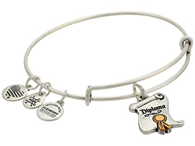 Alex and Ani Wizard of Oz, Diploma Bangle Bracelet, Two-Tone (Rafaelian Silver) Bracelet