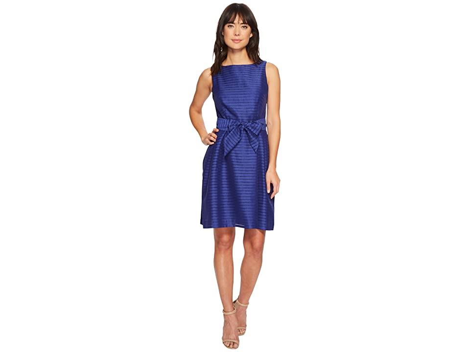 Anne Klein Fit Flare with Sash Dress (O