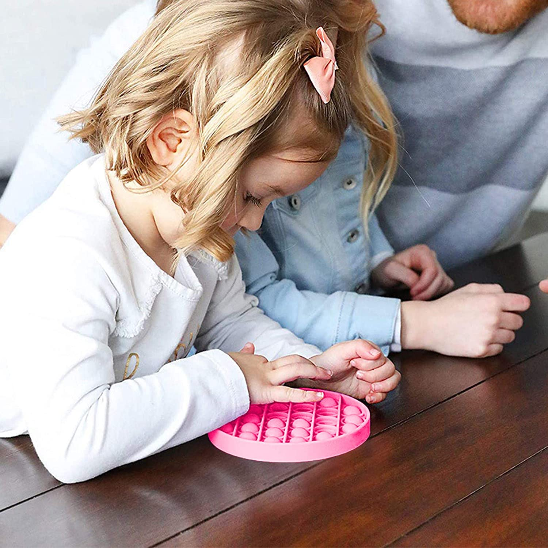 Pop It Fidget Toy Bubble Push Fidget Pop Push Pop Bubble Sensory Fidget It Board Toy Toys for Autism Push Pop Bubble Fidget Sensory Toy Autism Special Needs Stress Reliever